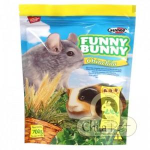 Ração Funny Bunny Chinchila 700g.