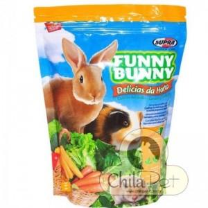 Ração Funny Bunny Delícias da Horta 500g.