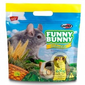 Ração Funny Bunny Chinchila 2.5Kg