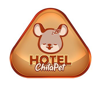 Hotel para chinchilas e mini-coelhos